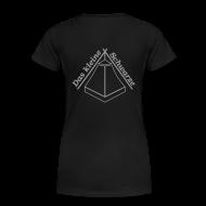 T-Shirts ~ Frauen Premium T-Shirt ~ *glitzer* Das kleine Schwarze *glitzer*