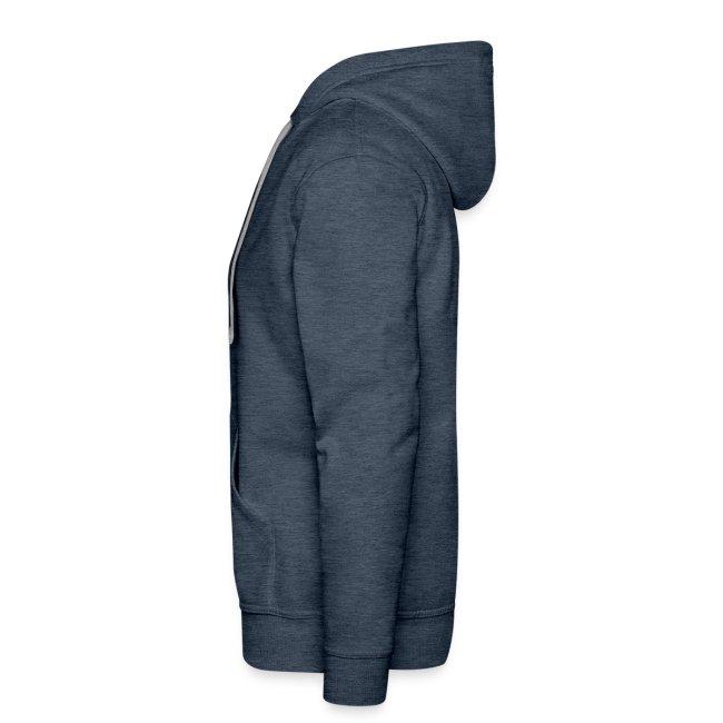 Kapuzenpullover für Männer. Fotografie-Symbole
