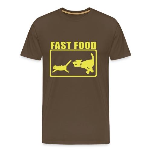Fast food - Mannen Premium T-shirt