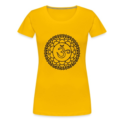 Kronenchakra - Girlieshirt klassisch - Frauen Premium T-Shirt