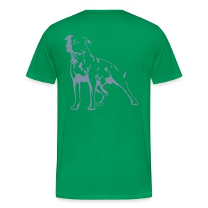 Dark Green/Silver Men's D.O.T.L Classic T-shirt - Men's Premium T-Shirt