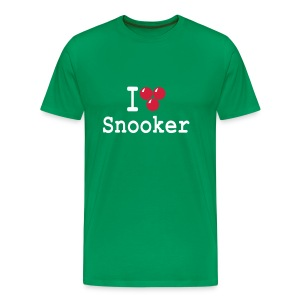 I love Snooker - Men's Premium T-Shirt