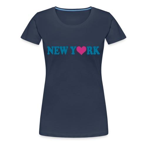 Newy - T-shirt Premium Femme