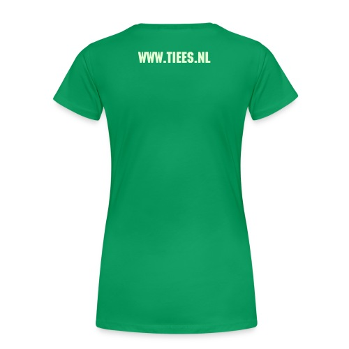 WIE IS ... - Vrouwen Premium T-shirt