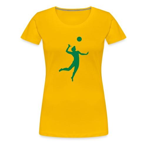 Maillot volley femme Bresil / Brazil - T-shirt Premium Femme