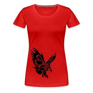 Female's Soaring Eagle (Red) - Women's Premium T-Shirt