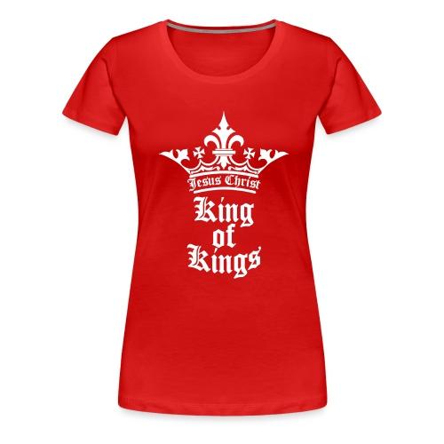 K.O.K.-red|white (Girls) - Frauen Premium T-Shirt
