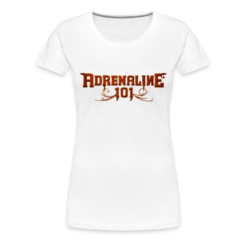 A101 Girlieshirt Basic WHITE/RED - Women's Premium T-Shirt