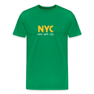 T-Shirt NYC bottlegreen - Männer Premium T-Shirt