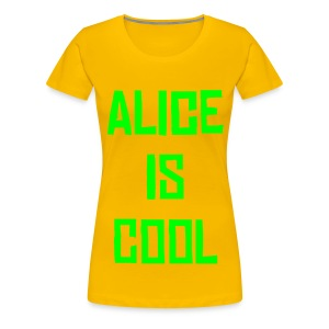 Alice is cool Tee YG - Women's Premium T-Shirt