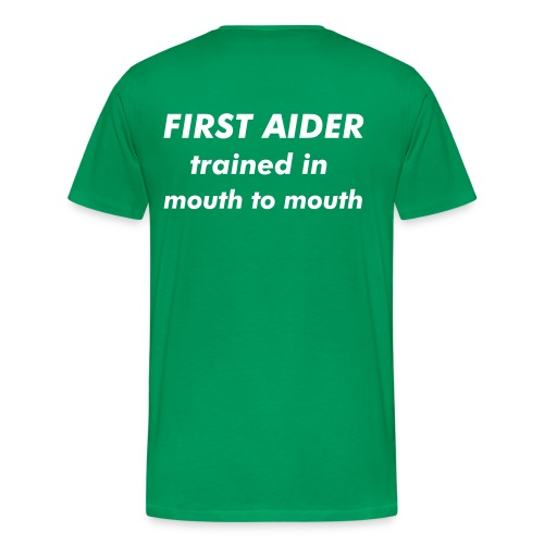 MooreStyle Firstaider T-Shirt - Men's Premium T-Shirt