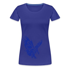 Female's Soaring Eagle (Aqua) - Women's Premium T-Shirt
