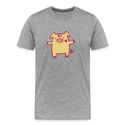 camiseta pork - Camiseta premium hombre