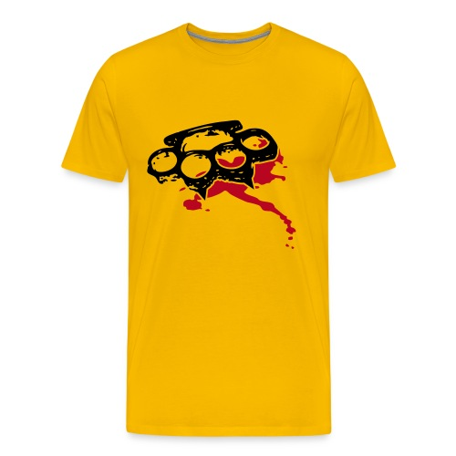 Schlagring - Männer Premium T-Shirt
