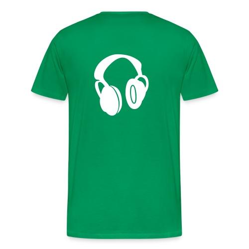 DJ - Premium-T-shirt herr