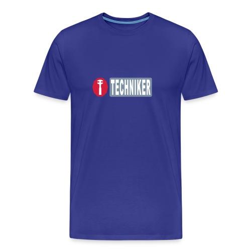 Basis-T-Shirt Techniker - Männer Premium T-Shirt