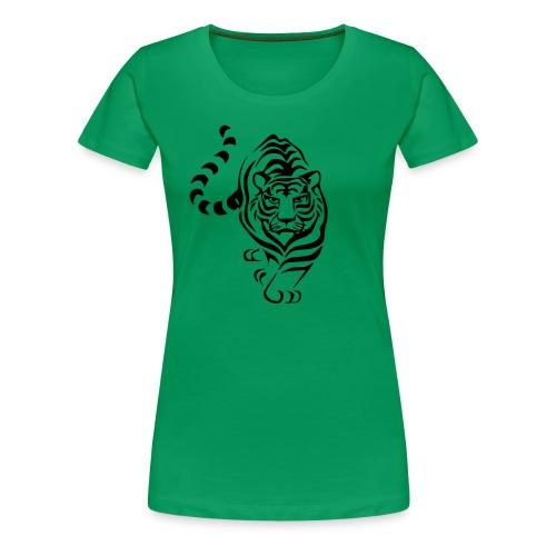 Green Tiger - Frauen Premium T-Shirt