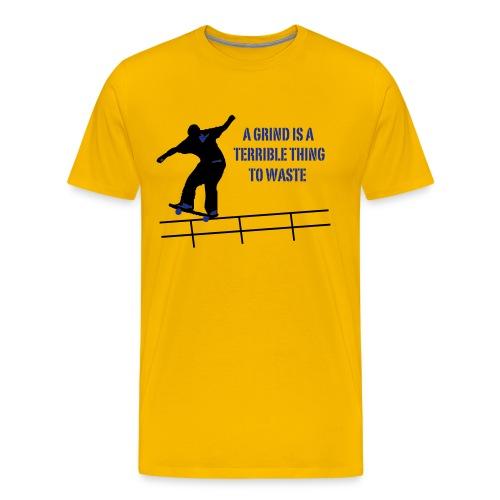 Skateboard Grind - Männer Premium T-Shirt