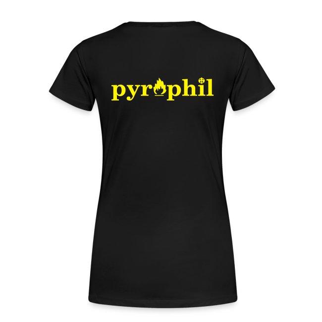 """Girlie-Shirt """"Pyrophil"""""""