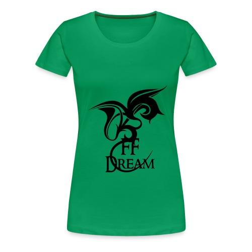 Classique FFDream - logo noir - T-shirt Premium Femme