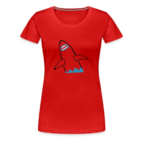 Shark T-Shirt girls - Frauen Premium T-Shirt