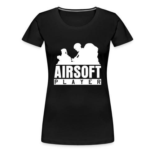 Airsoftplayer - Frauen Premium T-Shirt