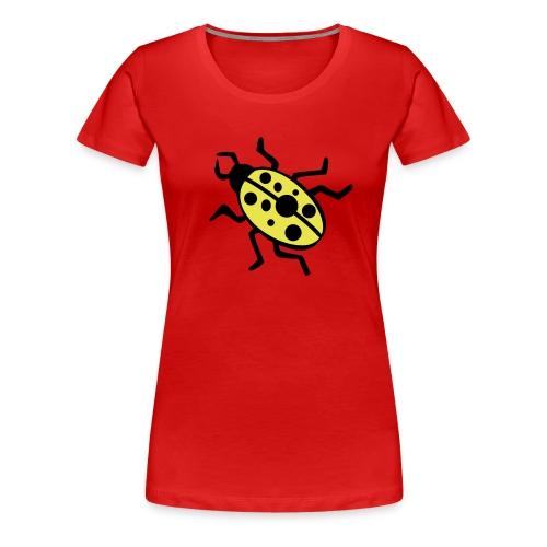 FDF - Se rødt når du ser på papir - Dame premium T-shirt