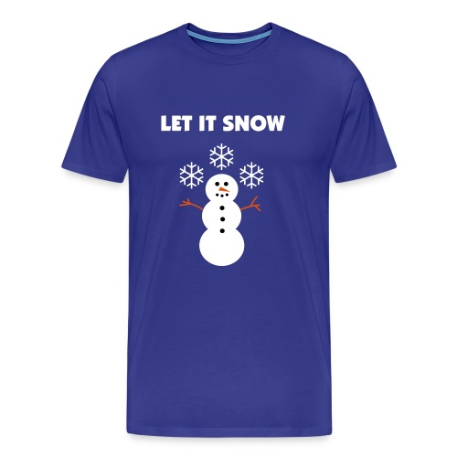 Let It Snow - Men's Premium T-Shirt