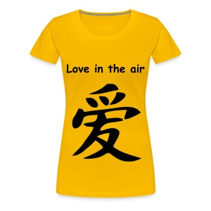 Love in the air! - Vrouwen Premium T-shirt