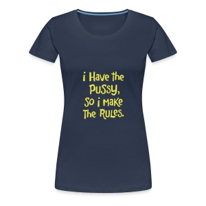 rules plain navy - Women's Premium T-Shirt