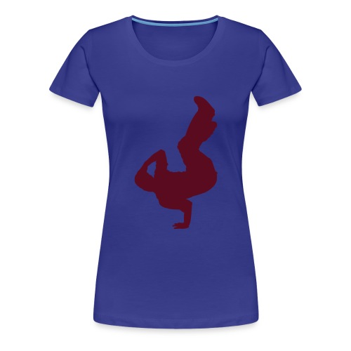 B-Girl Airchair - Frauen Premium T-Shirt