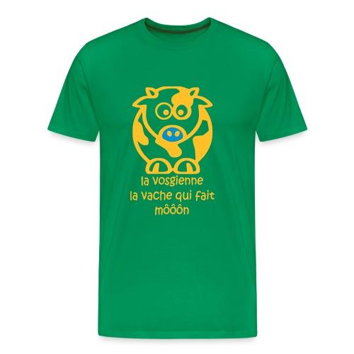 La vosgienne - verte et jaune - T-shirt Premium Homme