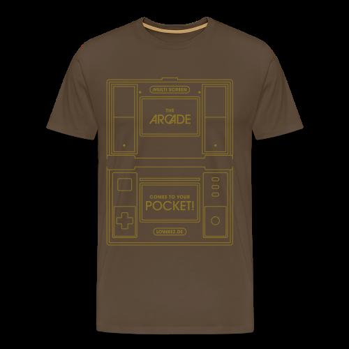 Multiscreen (gold) - Men's Premium T-Shirt
