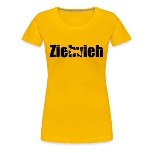 Ziehvieh - Frauen Premium T-Shirt