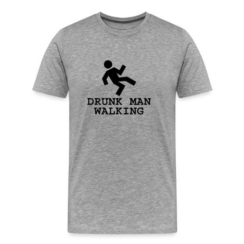 Drunk Man  Walking - Men's Premium T-Shirt