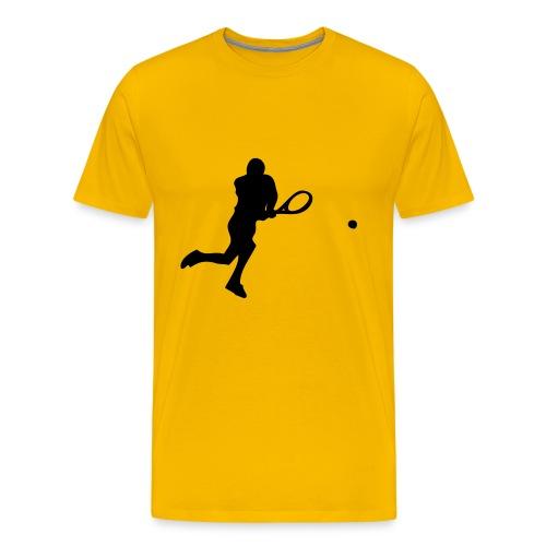 Backhand - Premium T-skjorte for menn