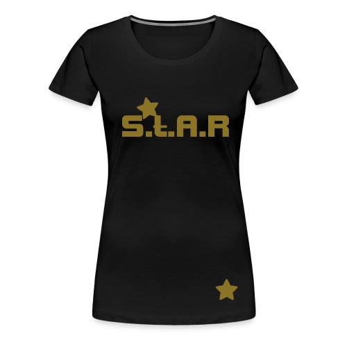 2nd Edition Black & Gold, Ladies - Women's Premium T-Shirt