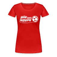 T-Shirts ~ Women's Premium T-Shirt ~ The P&B name + number tee (white text)