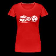 T-Shirts ~ Women's Premium T-Shirt ~ The P&B name + number tee (white text)
