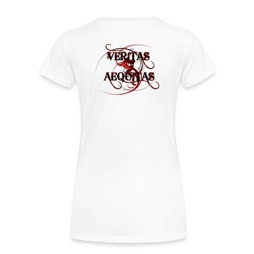Veritas Aequitas - Frauen Premium T-Shirt