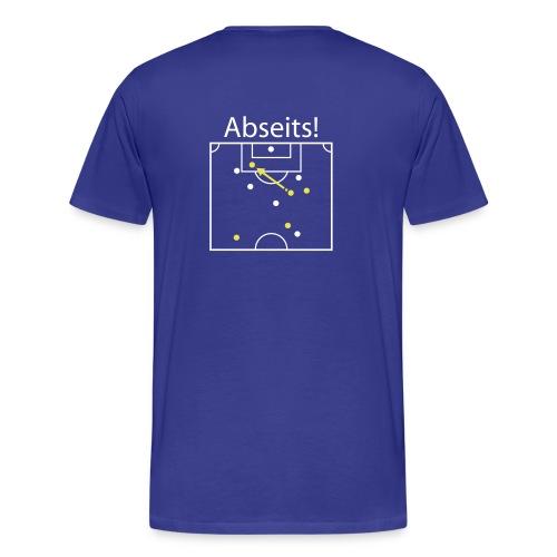 Fussball Shirt - Abseits - Männer Premium T-Shirt