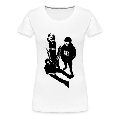 Trendsettarklubben svart - Premium T-skjorte for kvinner