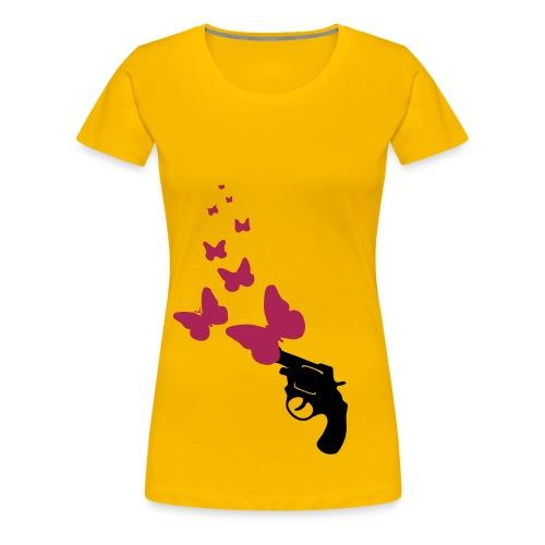 Butterflypistol - Frauen Premium T-Shirt