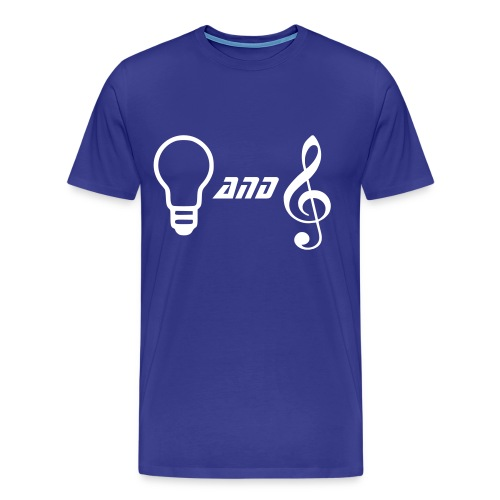 Lights and Music - Men's Premium T-Shirt