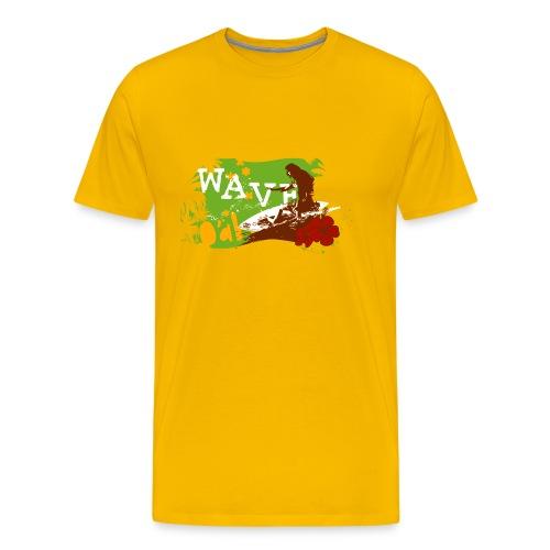 O'ahu Wave Basic - Männer Premium T-Shirt