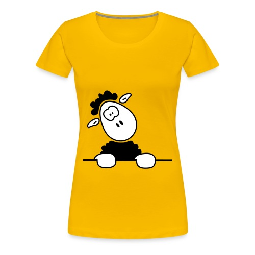 Sheep - Girlie (Glow In The Dark) - Frauen Premium T-Shirt