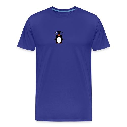 cool penguin - Men's Premium T-Shirt