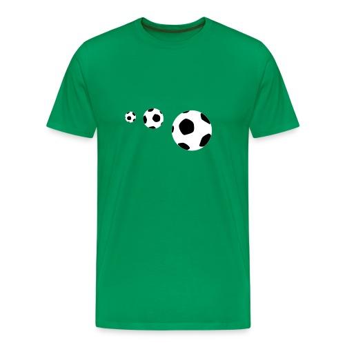 Footballs - Camiseta premium hombre