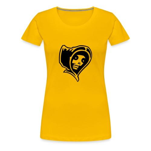 Grim Reaper (black) - Women's Premium T-Shirt