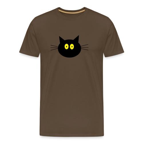 Katze - braun - Männer Premium T-Shirt